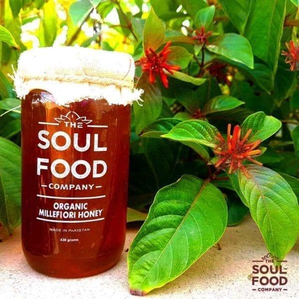 Organic Millefiori Honey